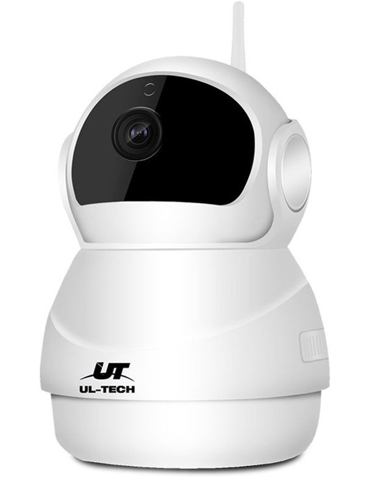1080P Wireless IP Camera CCTV Security System Baby Monitor White image 2