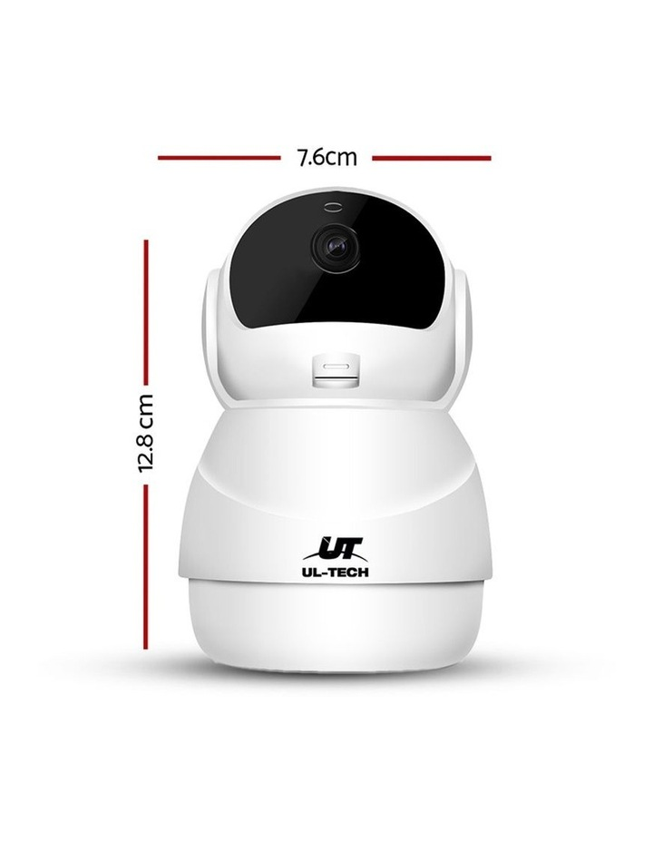 1080P Wireless IP Camera CCTV Security System Baby Monitor White image 5