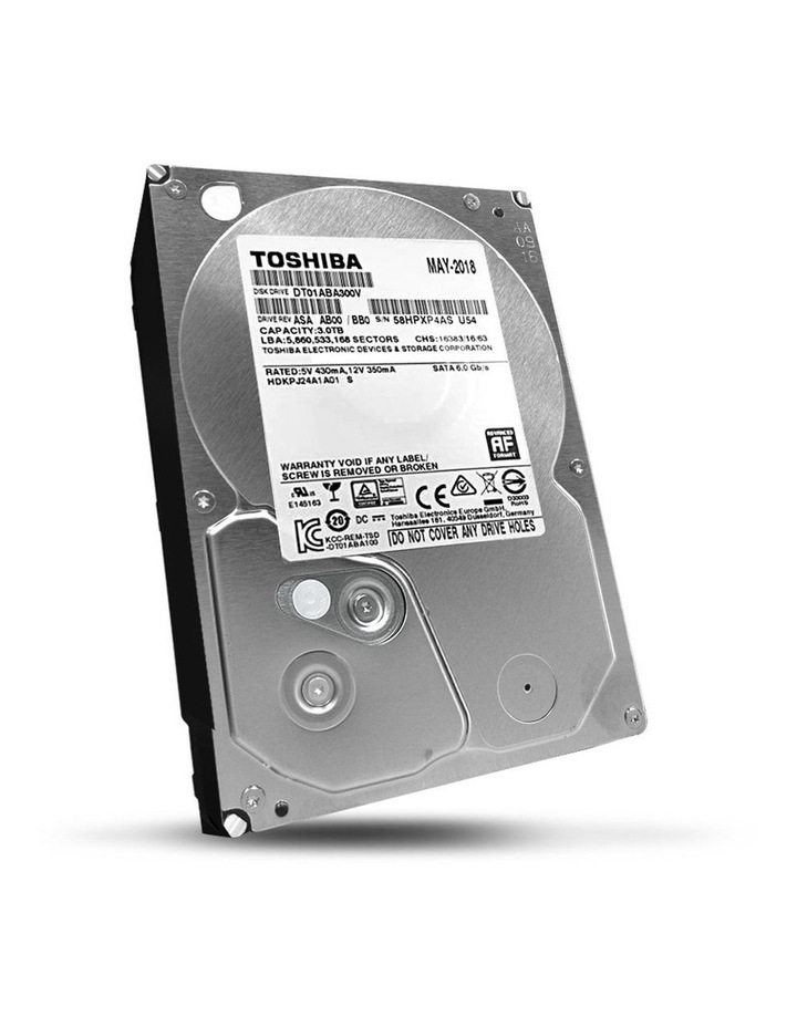 Toshiba Internal CCTV Hard Disk Drive 3TB image 1