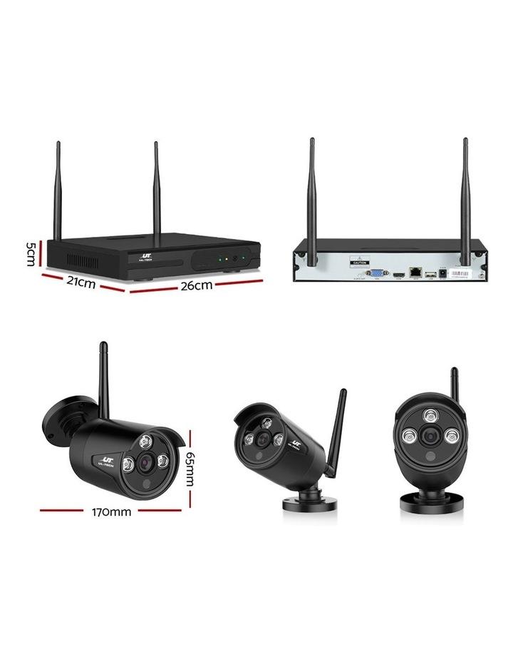 CCTV Wireless Security  2TB 4CH NVR 1080P 2 Camera Sets image 4