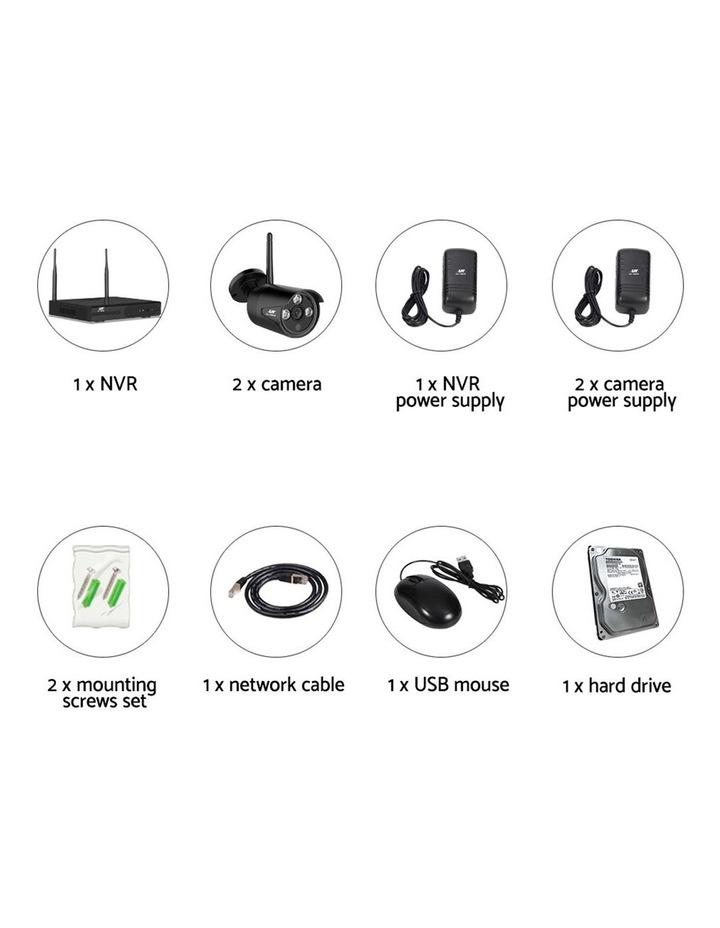 CCTV Wireless Security  2TB 4CH NVR 1080P 2 Camera Sets image 5