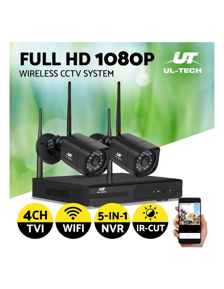CCTV Wireless Security Camera System Set Outdoor IP WIFI 1080P 4CH NVR image 4