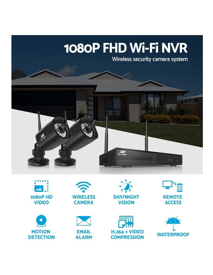 CCTV Wireless Security Camera System Set Outdoor IP WIFI 1080P 4CH NVR image 5
