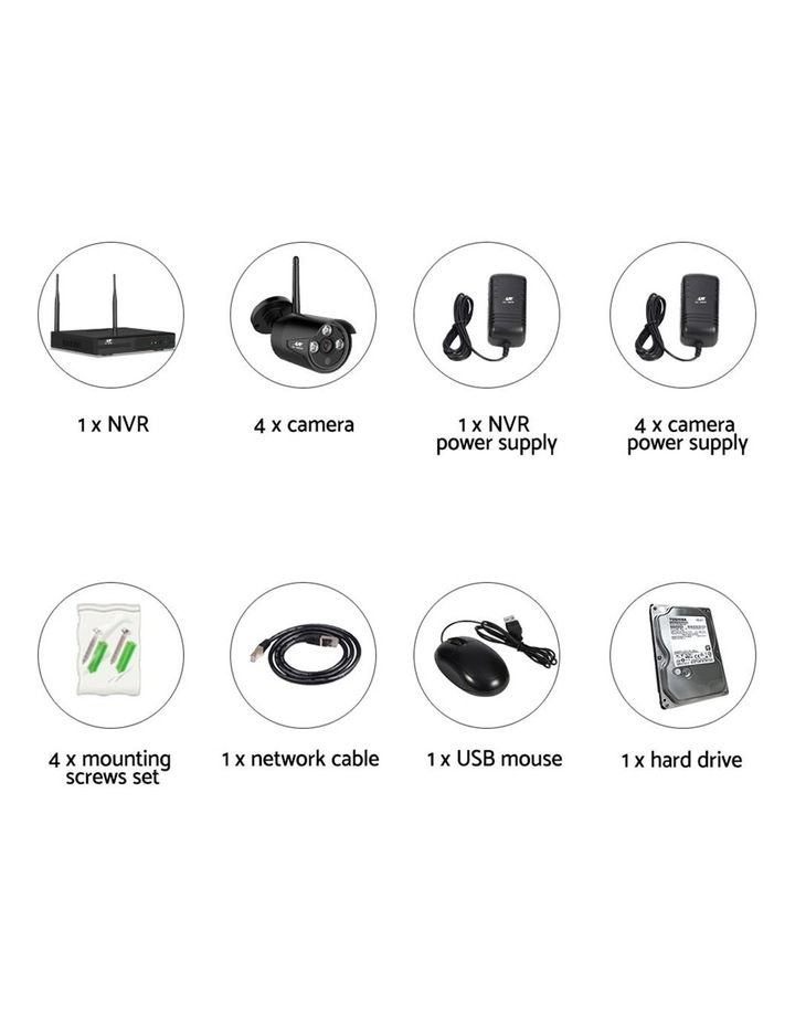 CCTV Wireless Security   Camera Sets image 5