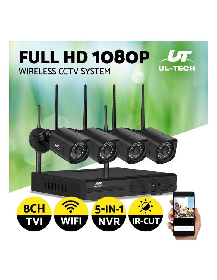 CCTV Wireless 4 Security Camera  Set Outdoor IP WIFI 1080P 8CH NVR image 4