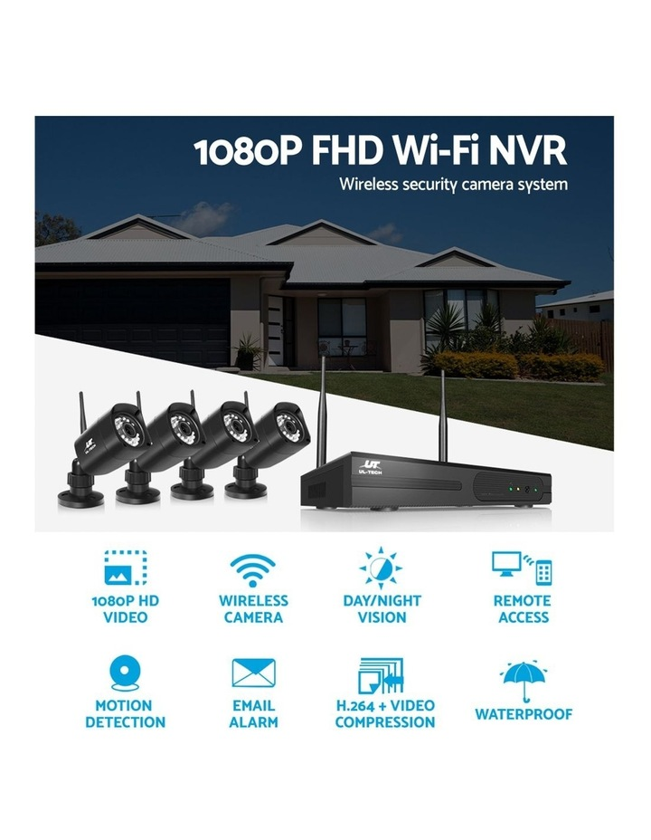 CCTV Wireless 4 Security Camera  Set Outdoor IP WIFI 1080P 8CH NVR image 5