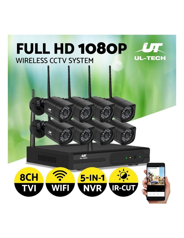 CCTV Wireless 8 Security Camera  Set Outdoor IP WIFI 1080P 8CH NVR image 4