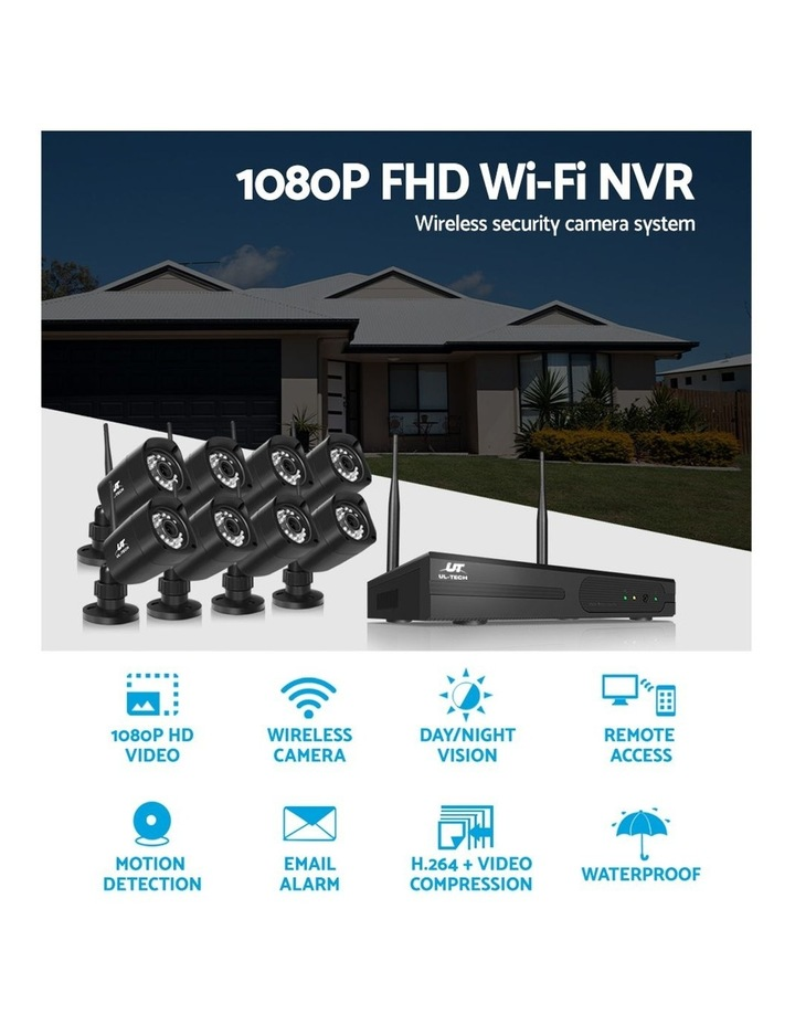 CCTV Wireless 8 Security Camera  Set Outdoor IP WIFI 1080P 8CH NVR image 5