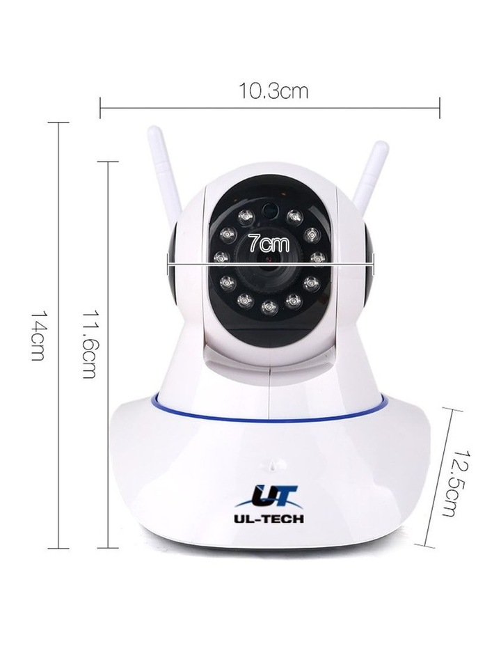 Set of 2 1080P IP Wireless Camera - White image 2