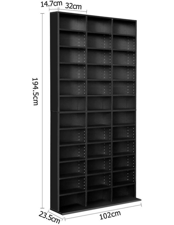 Adjustable Book Storage Shelf Rack Unit image 2