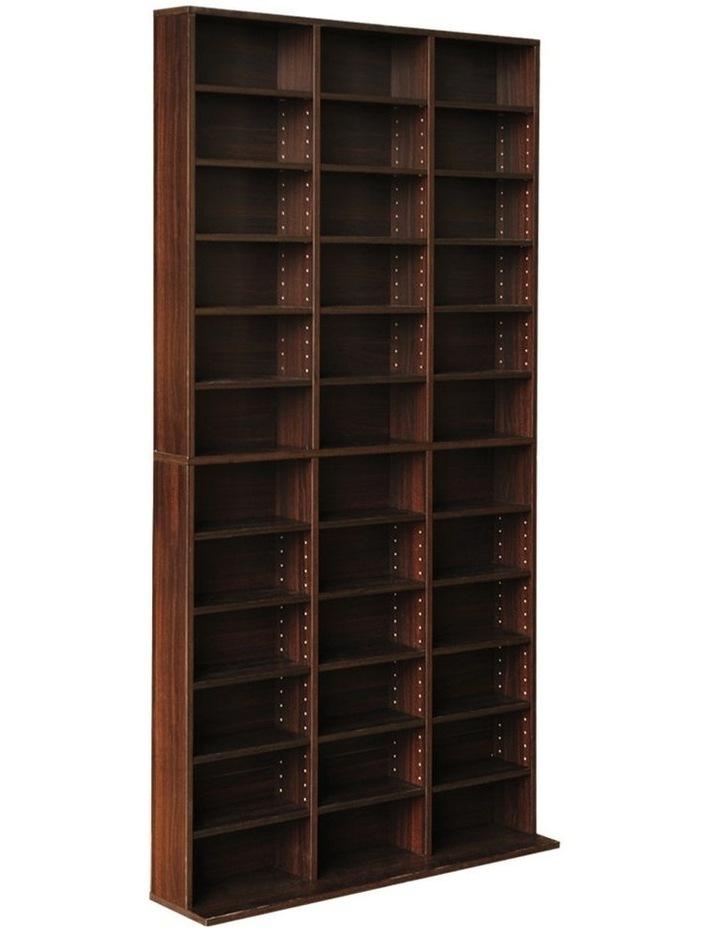 Adjustable Book Storage Shelf Rack Unit image 1