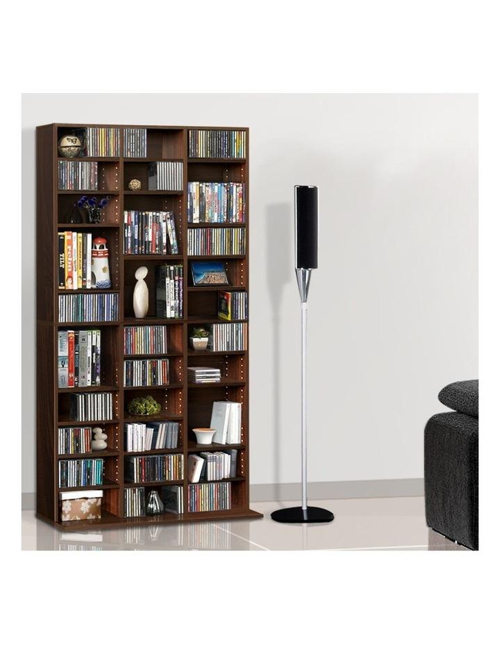 Adjustable Book Storage Shelf Rack Unit image 3