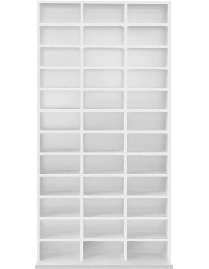 Adjustable Book Storage Shelf Rack Unit image 4