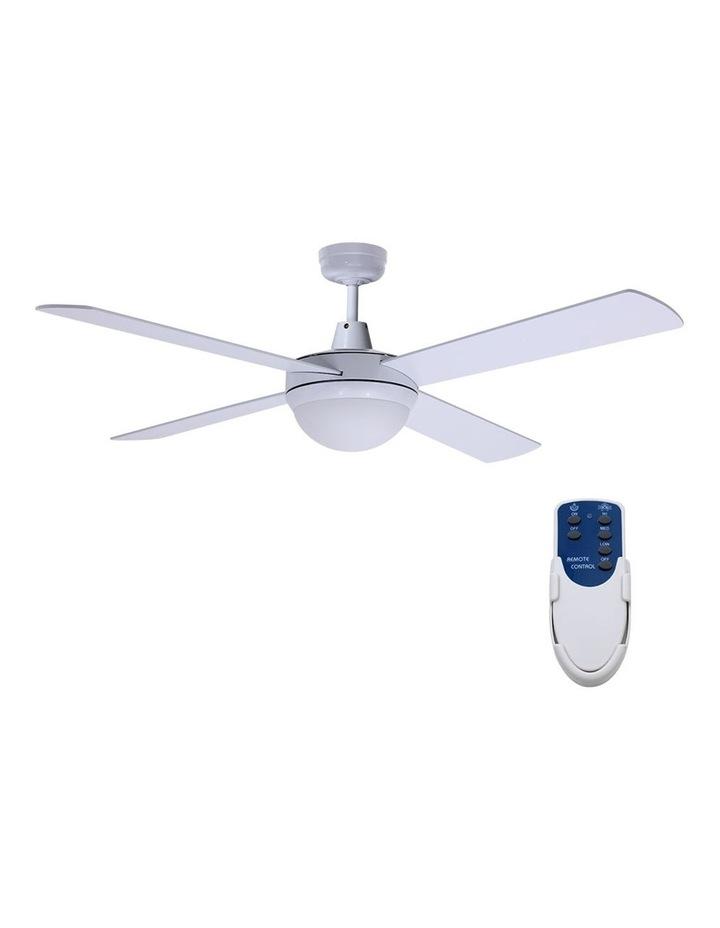 "52"" Ceiling Fan - White image 1"