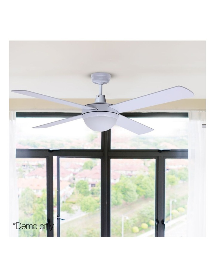 "52"" Ceiling Fan - White image 3"