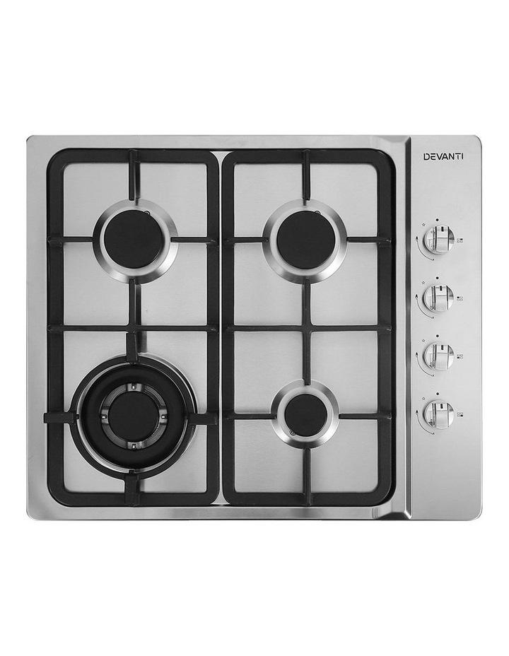 Gas Cooktop 60cm 4 Burner Ceramic image 1
