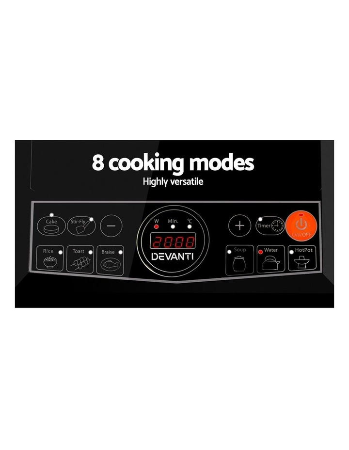 Chef Electric Induction Cooktop Portable Kitchen Cooker Ceramic Cook Top Cooking image 5