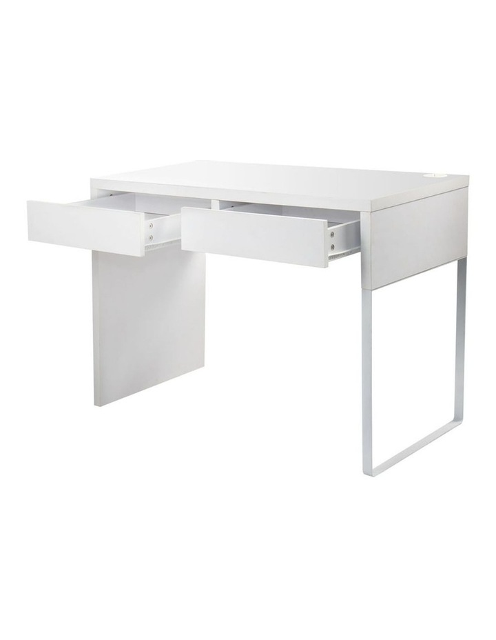 Metal Desk With 2 Drawers image 5