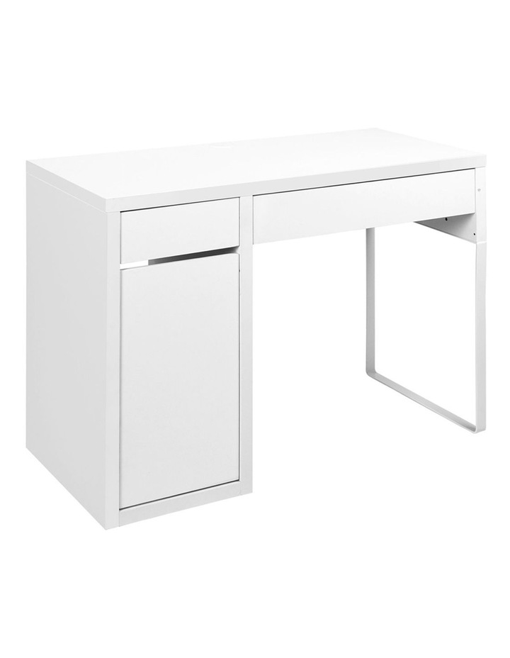 Metal Desk With Storage Cabinets image 1