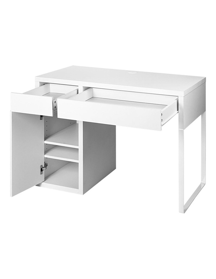 Metal Desk With Storage Cabinets image 4