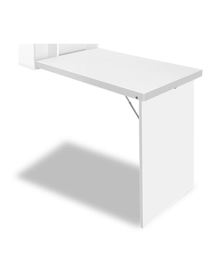 Foldable Desk With Bookshelf image 4