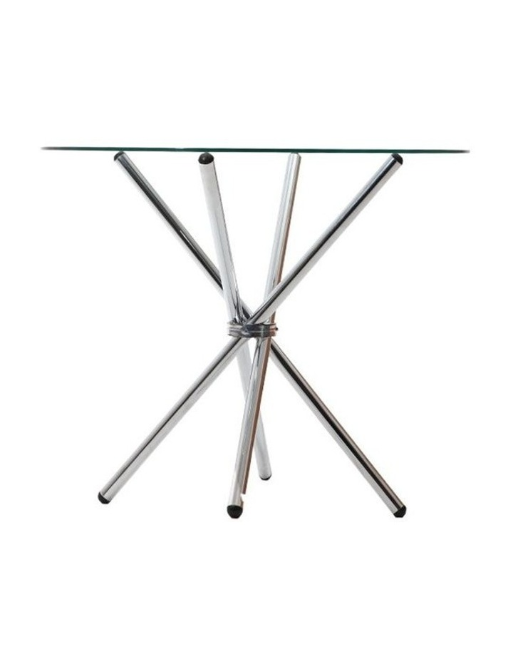 Round Dining Table With Tempered Glass image 3