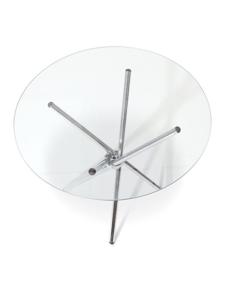 Round Dining Table With Tempered Glass image 4
