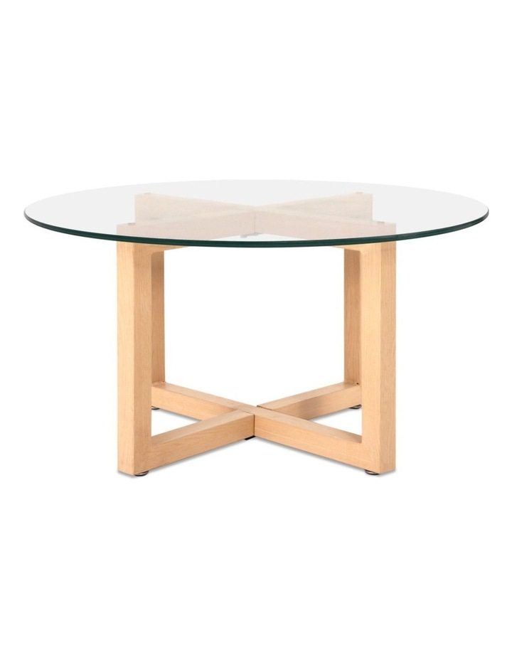 Tempered Glass Round Coffee Table image 4