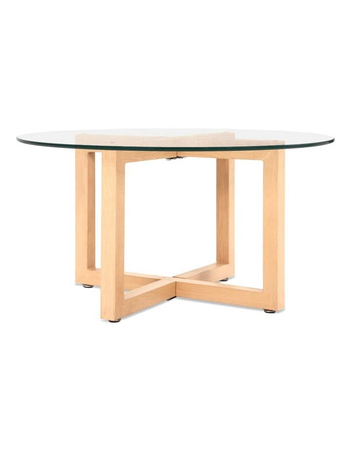 Tempered Glass Round Coffee Table image 5