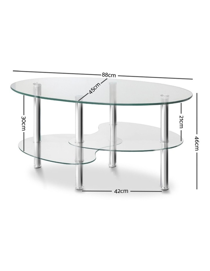 3 Tier Coffee Table image 2