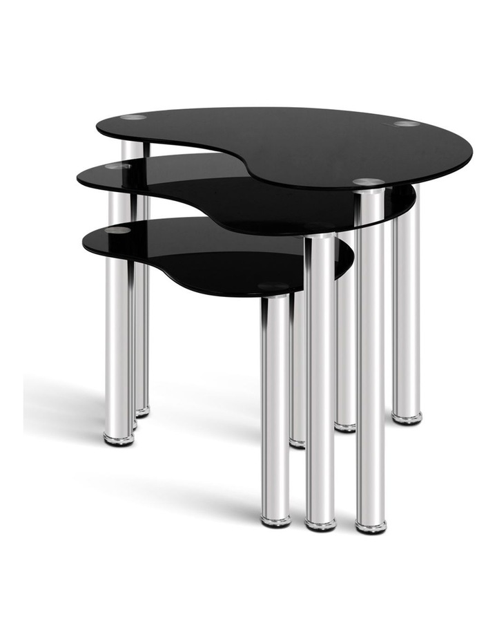 Set Of 3 Glass Coffee Tables image 4
