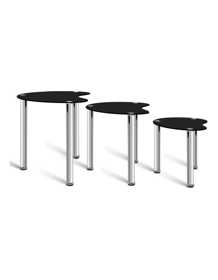 Set Of 3 Glass Coffee Tables image 5