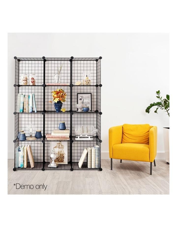12 Cube Mesh Wire Storage Cabinet image 3