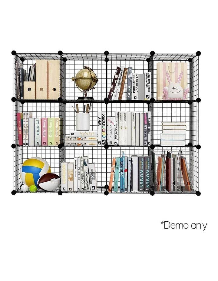 12 Cube Mesh Wire Storage Cabinet image 5