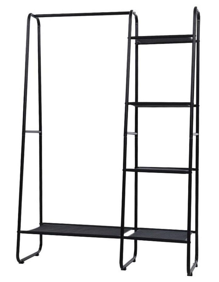 Portable Clothes Rack Garment Hanging Stand Closet Storage Organiser Shelf Home image 1
