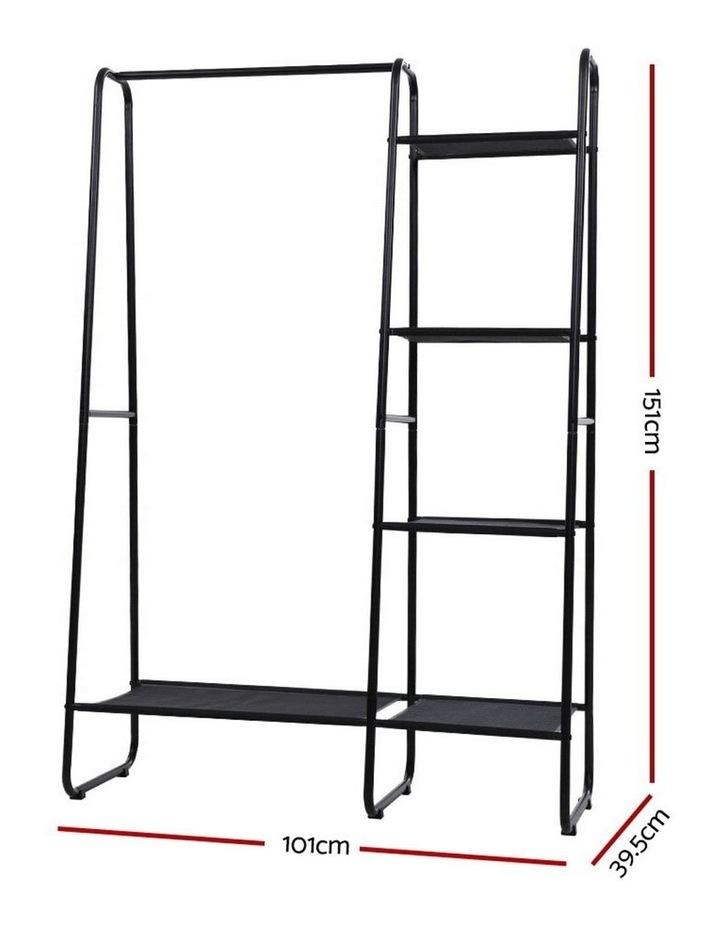 Portable Clothes Rack Garment Hanging Stand Closet Storage Organiser Shelf Home image 2