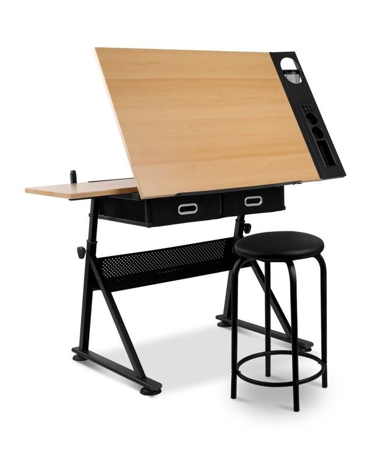 Tilt Drafting Table Stool Set image 1
