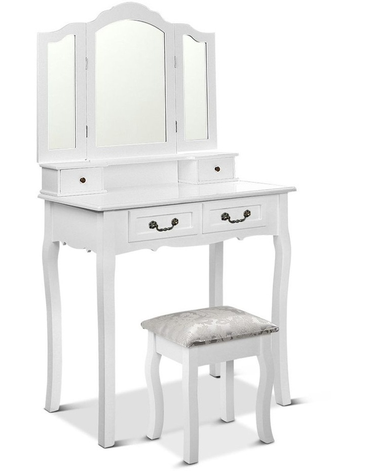 Dressing Table With Mirror image 1