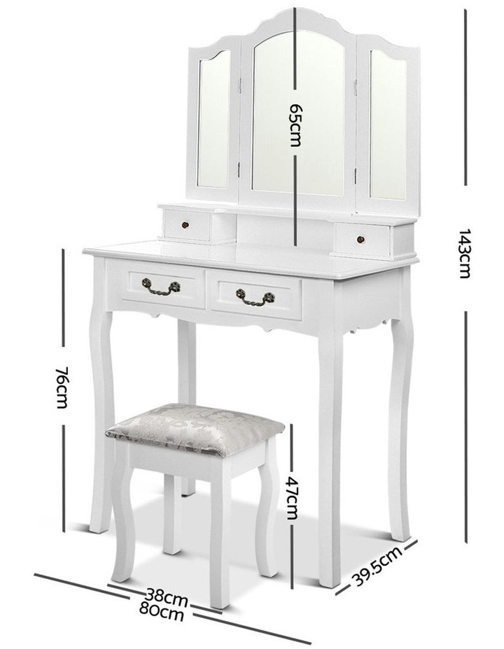 Dressing Table With Mirror image 2