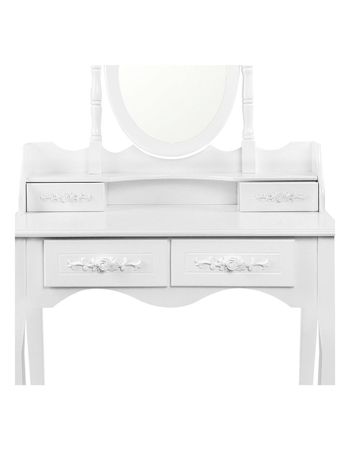 4 Drawer Dressing Table With Mirror image 5
