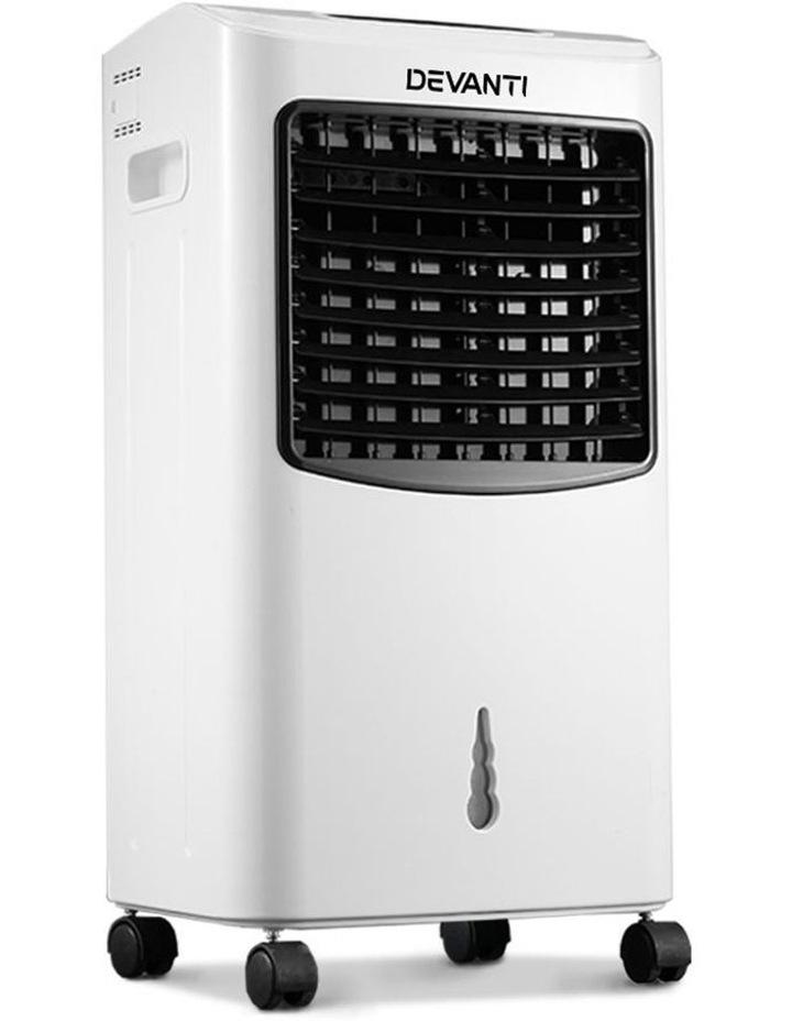 Devanti Portable Air Cooler And Humidifier Conditioner - Black & White image 1