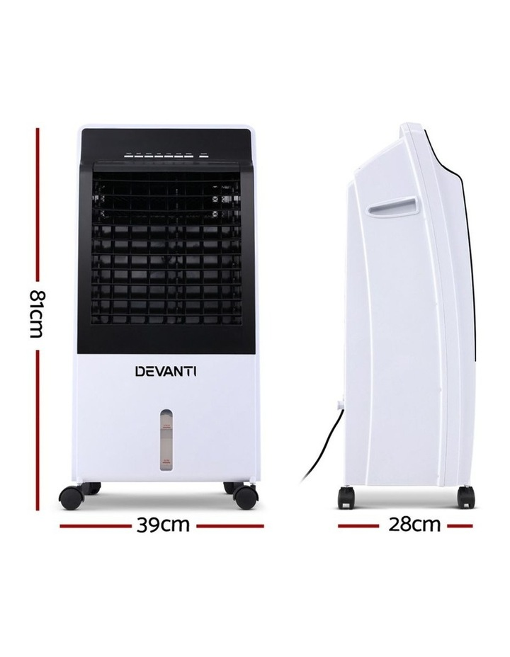 Devanti Evaporative Air Cooler Potable Fan Cooling Remote Control Led Display image 2