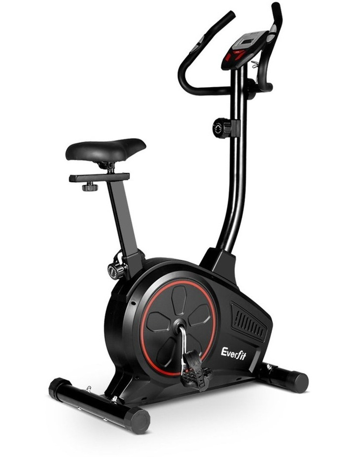 Everfit Exercise Bike Training Bicycle Fitness Equipment Home Gym Trainer Black image 1