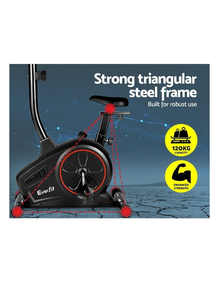 Everfit Exercise Bike Training Bicycle Fitness Equipment Home Gym Trainer Black image 3