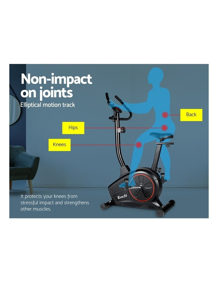 Everfit Exercise Bike Training Bicycle Fitness Equipment Home Gym Trainer Black image 4