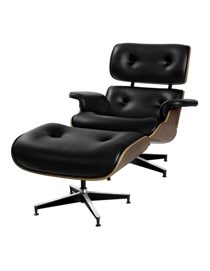 Replica Eames Lounge Chair & Ottoman Recliner image 2