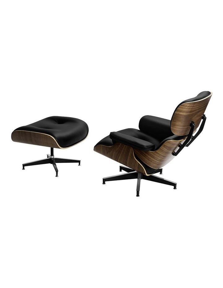 Replica Eames Lounge Chair & Ottoman Recliner image 3