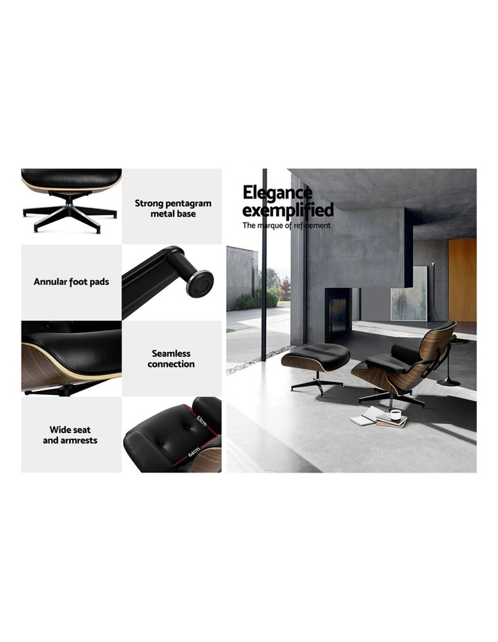 Replica Eames Lounge Chair & Ottoman Recliner image 5