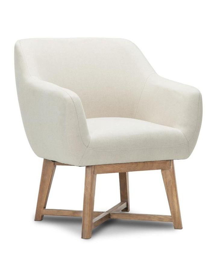 Fabric Tub Lounge Armchair image 1