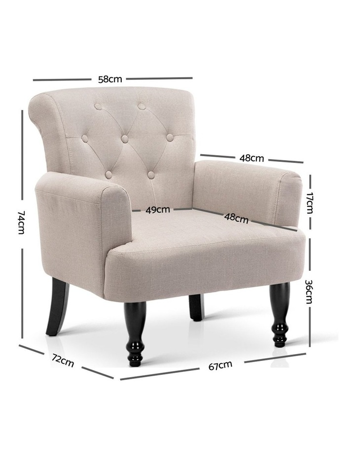 French Lorraine Chair Retro Wing image 2